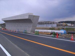 用田バイパス橋りょう工事