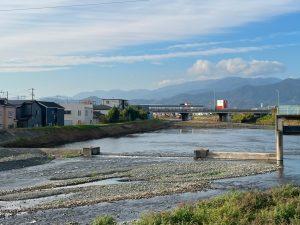 金目川河床整備